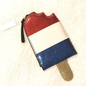🇺🇸Patriotic Popsicle glitter clutch 🇺🇸